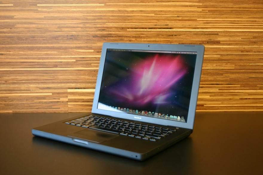 Black MacBook